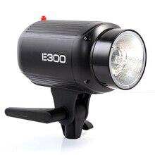 Godox E300 300 Vatios Lámpara de Estudio de Fotografía Estroboscópica Flash de Luz de Lámpara de luz de Flash 300ws 110 V/220 V Accesorios de Flash