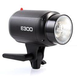Godox E300 300 Watts Photography Studio Strobe Flash Light Lamp Flash light Lamp Head 300WS 110V/220V Flash Accessories