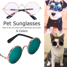Cat Glasses Pet Dog Products for Little Eye Wear Sunglasses Photos Props Accessories Supplies Toy