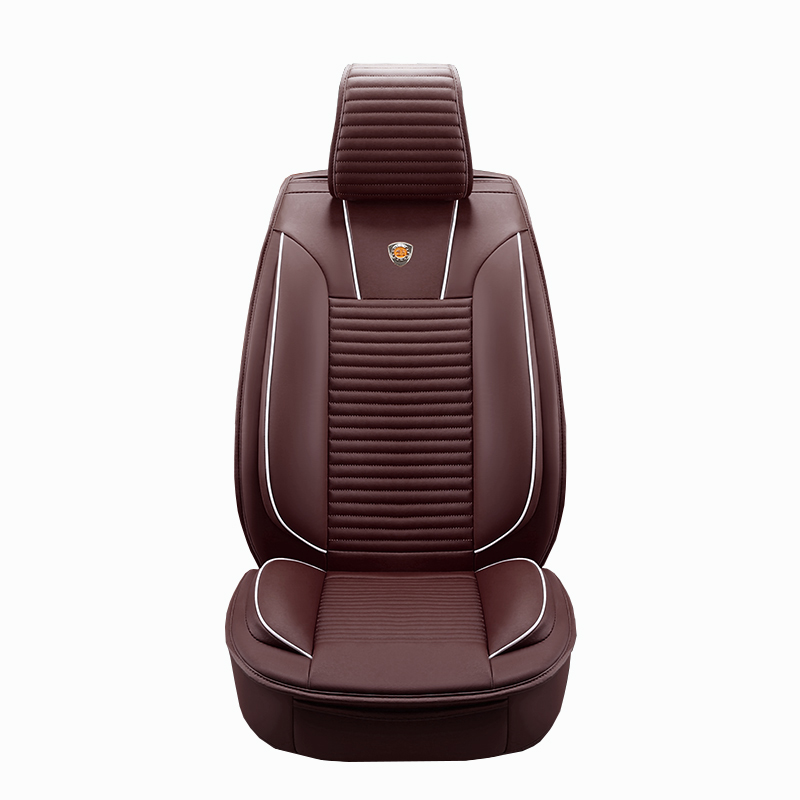 Luxury PU Leather Auto Universal 4 color Automotive car seat covers for Toyota RAV4 Land Cruise PRADO 150 COROLLA car styling brand new styling luxury leather 5 color 3d car seat covers front