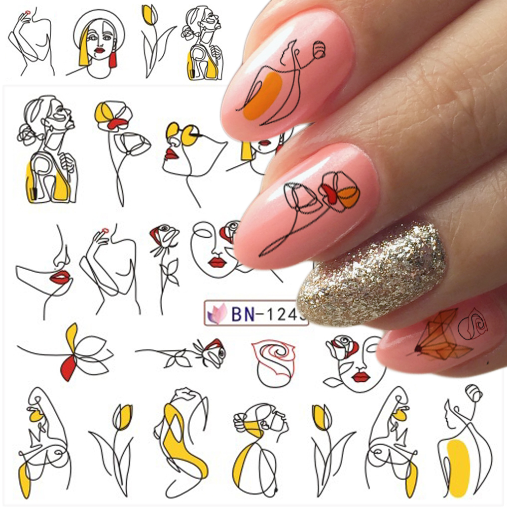 sticker on nails0