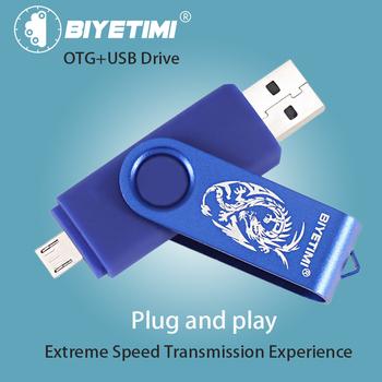 Biyetimi pamięć USB 64G 32G Pendrive Dargon 16G OTG 2 0 8G szybka pamięć usb dla smatfon z androidem dodatkowa pamięć PC tanie i dobre opinie CN (pochodzenie) A-485 Dysk flash Normalne Kreatywny USB 2 0 Z tworzywa sztucznego usb flash drive usb stick pen drive