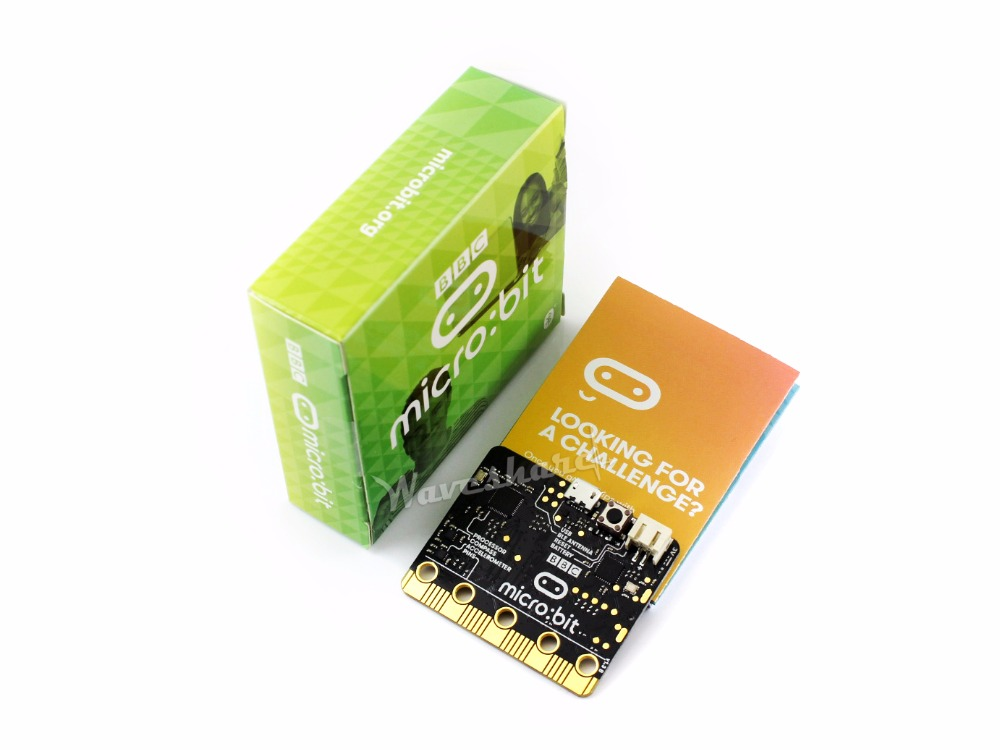 Parts BBC micro:bit NRF51822 Bluetooth ARM Cortex-M0,25 LED light.A computer for kids beginners to programming,support windows,i chip lqfp32 stm32f030k6t6 patch 32 bit arm micro controller
