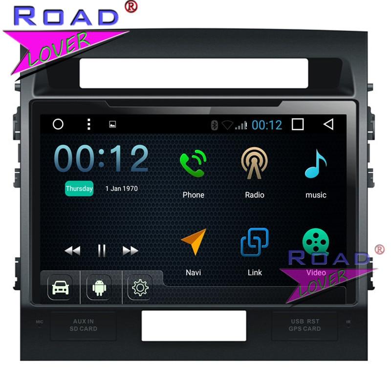 "Professionele Verkoop Topnavi Android 7.1 10 ""quad Core Twee Din Auto Multimedia Speler Auto Audio Voor Toyota Land Cruiser 2007-2015 Stereo Gps Navi Bt"