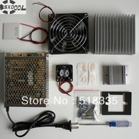 Free Shipping Cooling System Learning Packages Thermoelectric Cooler Peltier TEC1 12706 Cold Plate Refrigeration Learning Kit