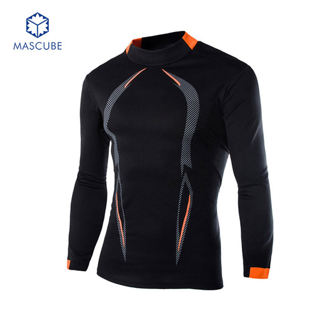 ad7a91e4537e3 Quick Drying Tights Long-sleeved T-shirt RunTraining Clothing Compression  Shirt Bodybuilding Crossfit Tops