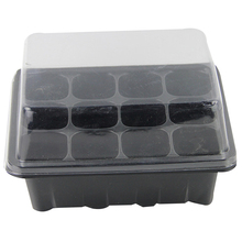 3 Pcs/Set Garden Seedling Trays 12 Cells Seed Starter Nursery Plant Pot Flower Grow Starting Germination