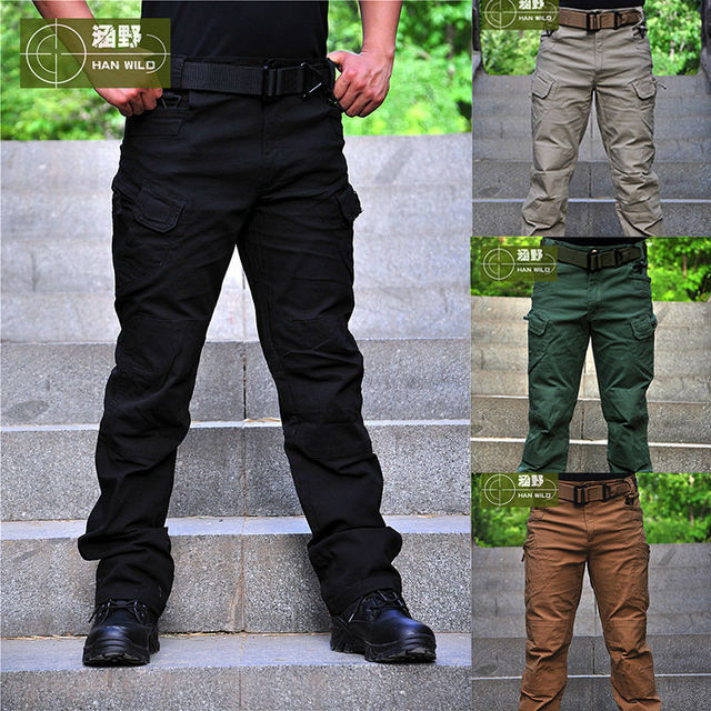 Tactical Pants  Sport Trousers Militar  OutdoorPants Men Safety Clothing Combat SWAT Army Training Military Pants Hiking Hunting
