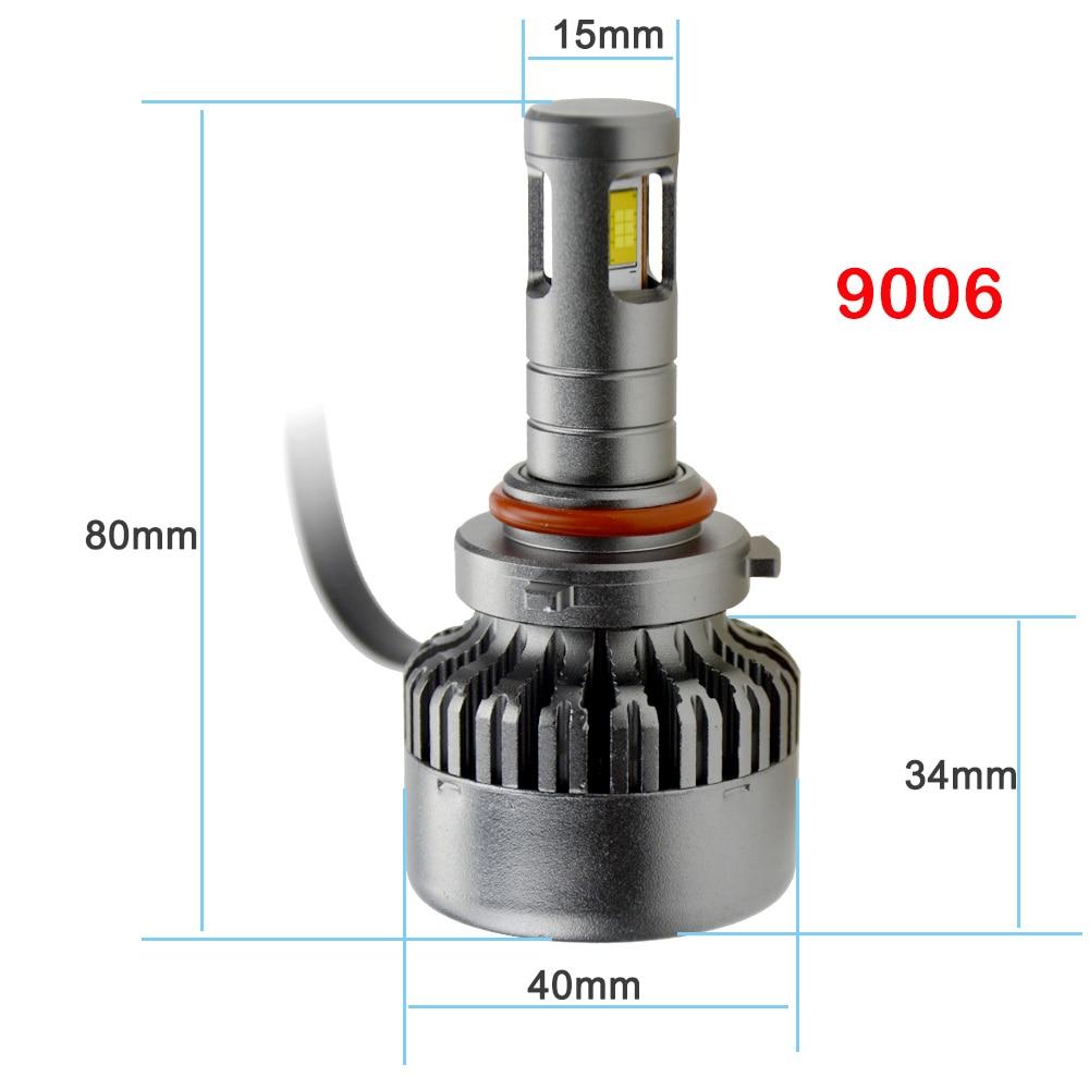 где купить Good Quality H7 9006 HB4 H11 H8 H9 H10 9005 HB3 Headlight car auto Driving Led Lamp Fog led light Bulbs t10 h4 led automobiles по лучшей цене