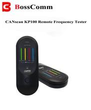 Canscan bosscomm KP100リモートテスター無線周波数赤外線rf irリモートテスターのための300 315mhz 434mhz 868mhzおよび902mhzの