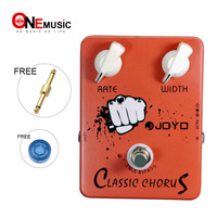 JOYO JF 05 True Bypass Design Classic Chorus Electric Guitar Effect Pedal Full Bodied 12 string Sounds Aluminum Alloy Material