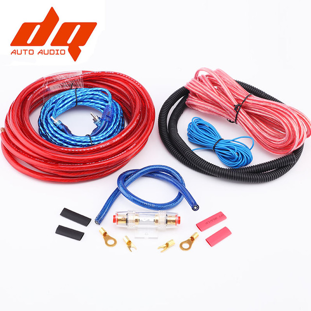 2017 New 1500W 4GA Car Audio Wires Cable Wiring Amplifier ...