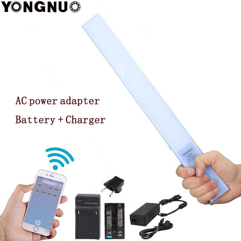 YONGNUO YN360S YN360 Ultra บางมือถือ Ice Stick LED Video Light 3200 k 5500 k โทรศัพท์ App Control LED เติมแสง Stick + อะไหล่-ใน ไฟถ่ายภาพ จาก อุปกรณ์อิเล็กทรอนิกส์ บน AliExpress - 11.11_สิบเอ็ด สิบเอ็ดวันคนโสด 1
