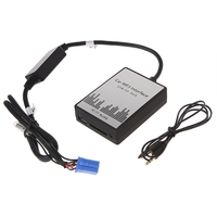 OOTDTY USB SD AUX Car MP3 Music Radio Digital CD Changer Adapte For Renault 8pin Clio Avantime Master Modus Dayton Interface Oct