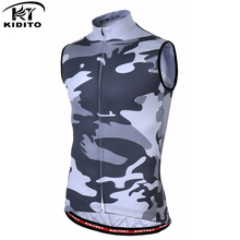 KIDITOKT 2018 Pro Men Cycling Jersey Sleeveless Waistcoat Clothing Summer Breathable Ropa Ciclismo MTB Bike Wear 3 Style