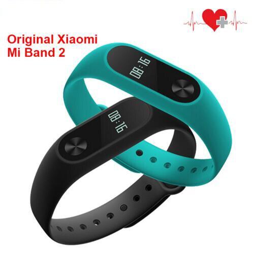Original Xiaomi Mi Band 2 Smart Wristband Bracelet OLED Touchpad Mi Band 2 Hear