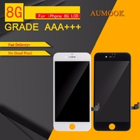 10pcs Lot Quality AAA No Dead Pixel LCD Display For IPhone 8 LCD Screen Touch Digitizer