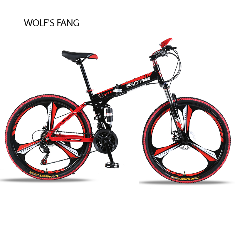 21 speed 26 inch Mountain bike folding bicycle Road Bike Brand Unisex Full Shockingproof Frame bicycle Front and Rear Mechanic