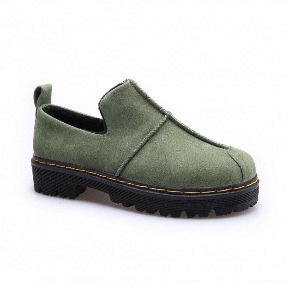 2017 nuevos zapatos de las mujeres zapatos simples de las mujeres esmerilado gru