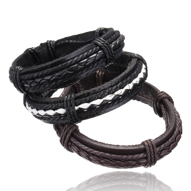 leather bracelet men Jewelry 2019 wristband women hombre pulseira masculina feminina mujer erkek bileklik bohemian charm hombre