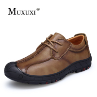 Brand Handmade Genuine Leather Men Shoes Men Flats Comfortable Patent Leather Shoes Fashion Classic Oxford Shoes