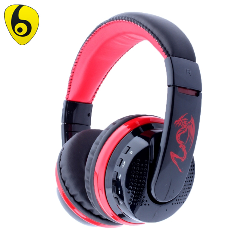 OVLENG MX666 Bass Headphone Wireless Noise Cancelling Headphones FM Headset Earphone for Phone PC Computer Headband earphone musical ear phones headphones with microphone bluetooth headset wireless noise cancelling computer fm tf card headband