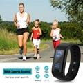 Excelvan smart watch podómetro sleep monitor de salud pulsera pulsera inteligente pulsera bluetooth ip67 a prueba de agua rastreador de ejercicios