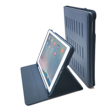 Get more info on the 9.7 iPad 2018/2017/2016 5th/6th Gen & iPad Air 1/2 Case Very Protective But Thin + Convenient Magnetic Stand + Sleep/Wake Cover