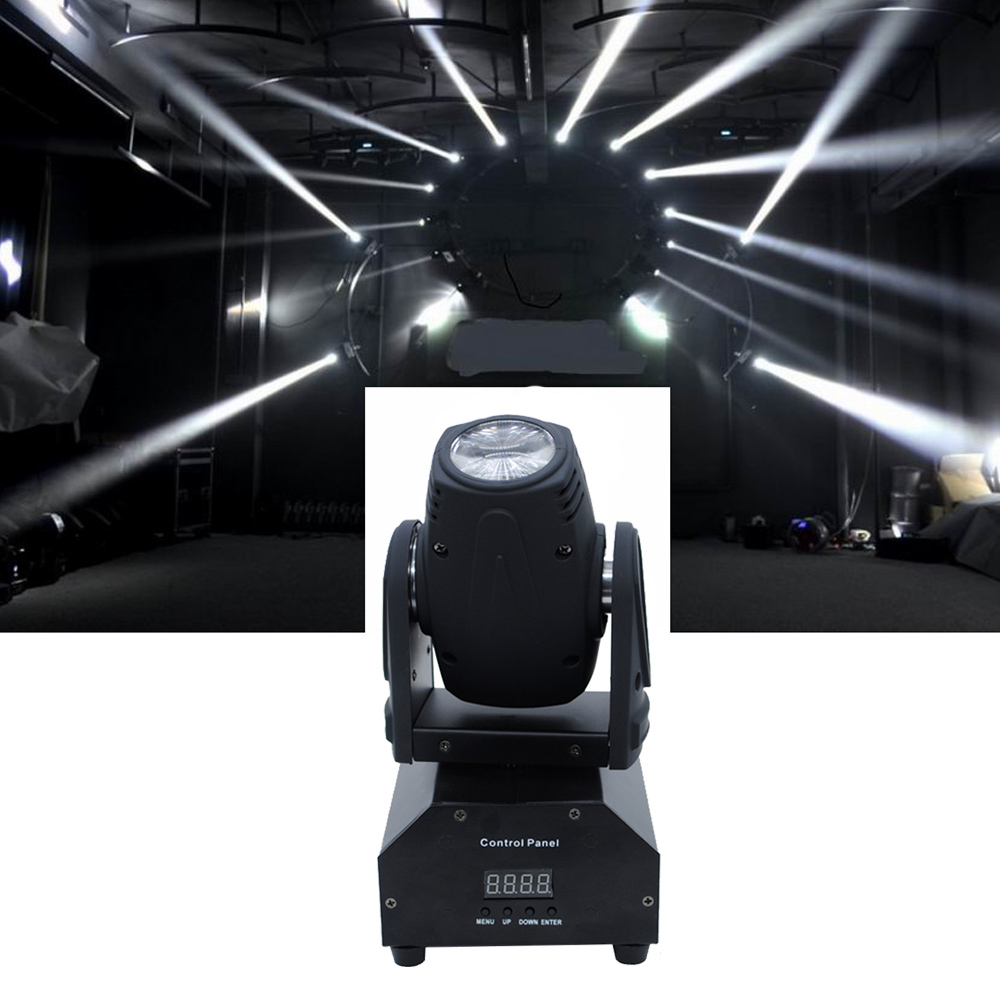 DHL Free Shipping Hot Sale 4x10W 4in1 LED Mini Moving Head Beam Light Ultra Bright Stage Lamp DMX DJ Show Projector Party Lights цена