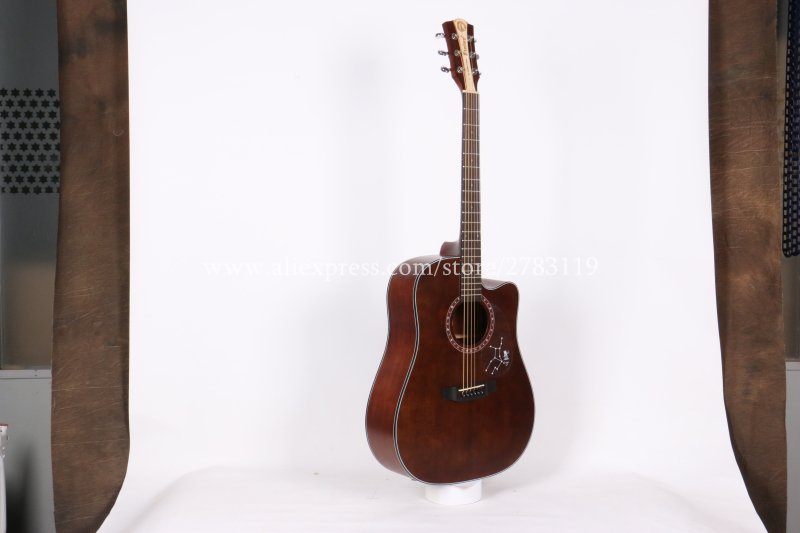 482c1535aec Finlay Cutaway Acoustic guitar 41 inch guitar acoustic guitar With Spruce  top /Mahogany Body,chinese guitarras,brown,FD 115CS-in Guitar from Sports  ...