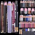 Hot selling Black Waterproof  Eyeliner Make Up Beauty Comestics Long-lasting Eye Liner Pencil Makeup Tools for eyeshadow