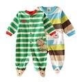 Детская одежда! 2017 девочка одежда для Новорожденных одежда флис ползунки с длинными рукавами продукт младенца, младенческая детская одежда мальчика bebes