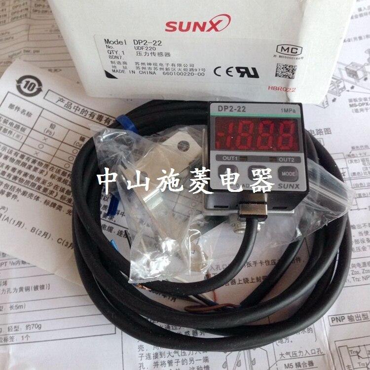 SUNX PRESSURE SENSOR DP2-22 dp2 40n sensor mr li