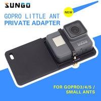 Stabilizer Adapter Switch Mount Plate For GoPro Hero 6 5 4 3 Xiaomi Yi 4K Handheld