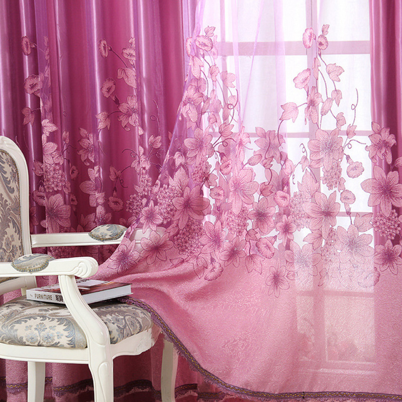 Curtain styles for large windows picture more detailed for Autrefois home decoration rideaux