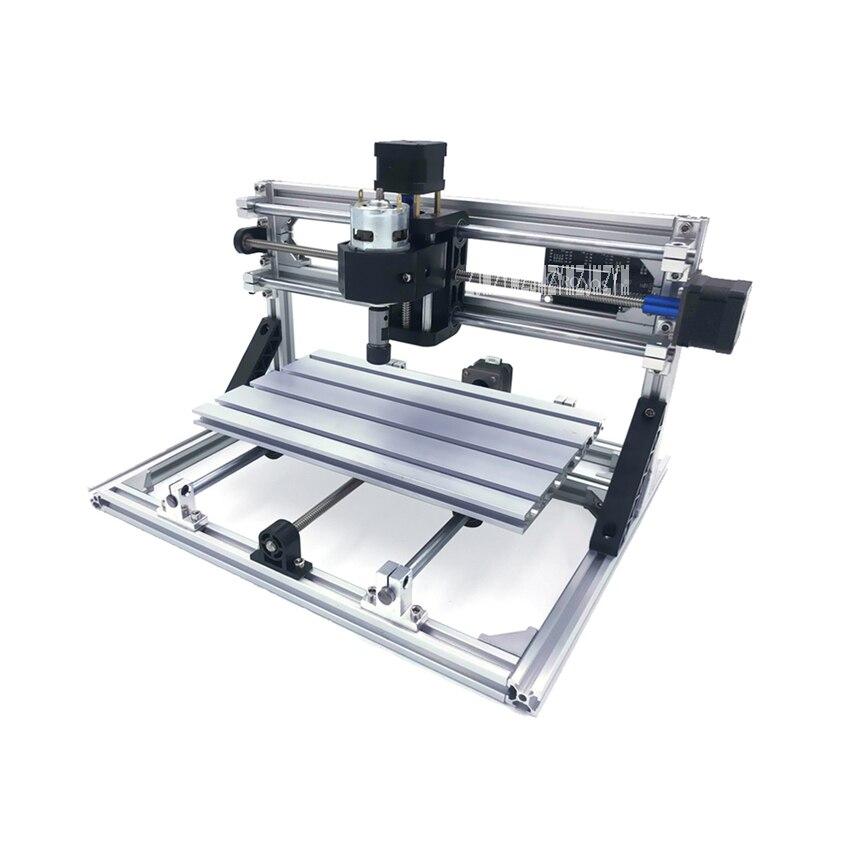 CNC 3018 ensemble complet de pièces CNC Machine de gravure Mini Machine de gravure Laser Machine de gravure 110 V-240 V 300*180*45mm offre spéciale