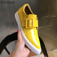 2019 New Women Flats shoes slip on Shall