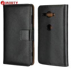 На Алиэкспресс купить чехол для смартфона case for sony xperia xz2 compact leather cover card slot wallet case coque xz2 compact phone case cover flip stand