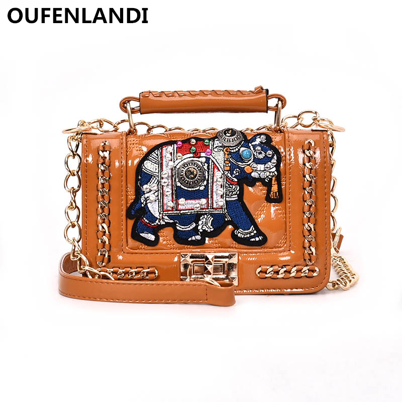 OUFENLANDI designer bags famous brand women bags 2018 High Quality simple stylish Should ...