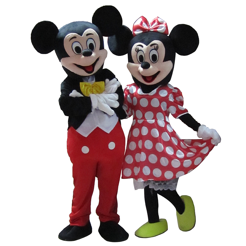 Mickey and minnie mouse adult costume agree