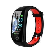 Женский Смарт браслет ONEVAN, фитнес браслет с пульсометром, монитором кровяного давления и GPS, спортивный трекер, Смарт часы для Android и IOS