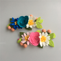 Trend 2018 Hot Selling Products Amazon Echo Wedding Hair Accessories Hawai Flower Hair Bands Elastic For