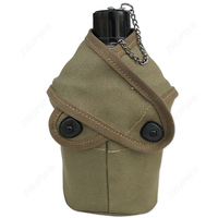WW2 US Army MILITARY USMC CANTEEN 2ND PATTERN WITH COVER OUTDOOR KETTLE HIGH QUALITY REPLICA