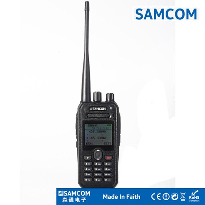 SAMCOM VHFUHF Dual Band FM Transceiver AP 400UV Plus band