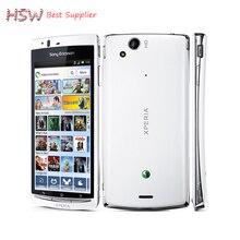 Оригинальный разблокирована Sony Ericsson Xperia Arc S LT18i 4.2 дюймов 3 г WI-FI A-GPS 8MP Камера Android отремонтированы мобильных телефон