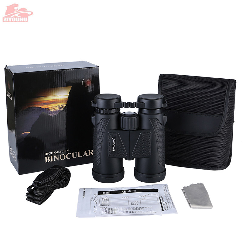 Image 5 - Newest HD Zoom Binocular Telescope 10X Magnification Powerful Waterproof Hunting Low Light Level Night Vision Binoculars Hiking-in Monocular/Binoculars from Sports & Entertainment