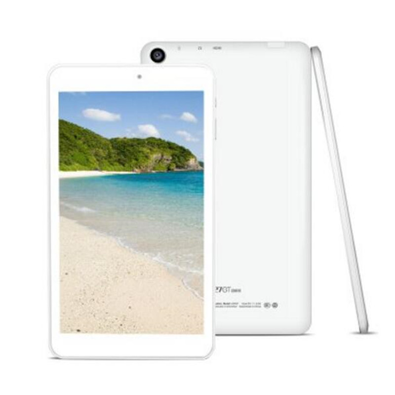 CUBE U27GT Super Tablet PC - WHITE 182892901 8inch Android 5.1 MTK8163 Quad Core 1.3GHz 1GB RAM 8GB ROM Bluetooth 4.0 GPS Tablet