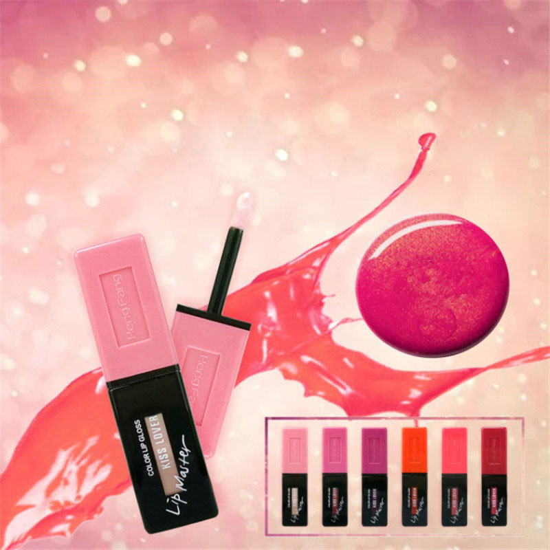 Hengfang New Shimmer Lipstick Liquid Makeup pentru femei Femei de - Machiaj