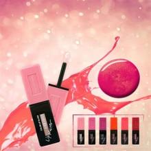 Hengfang New Shimmer Lipstick Liquide Marque Maquillage Pour Les Femmes Longue Durée Hydratant Rose Glitter Lipgloss Lèvres Cosmétiques