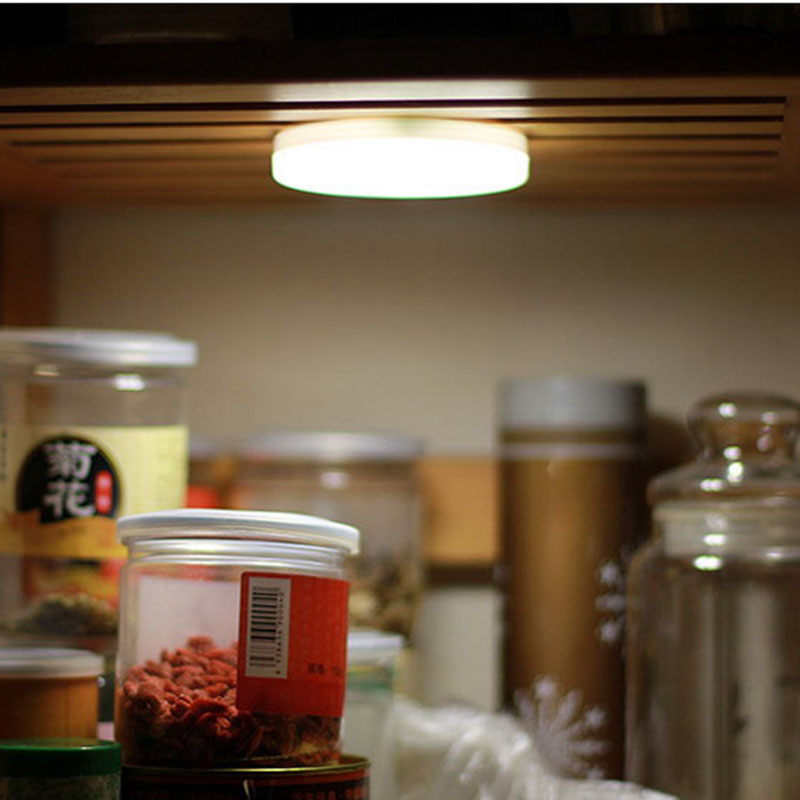 6 LED PIR Motion Sensor Activated Night Light Closet Corridor Cabinet Induction Lamp Magnetic Wall Light P20